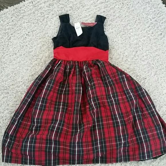 2e88aaa7e27   New   Girls Chaps holiday dress size 16